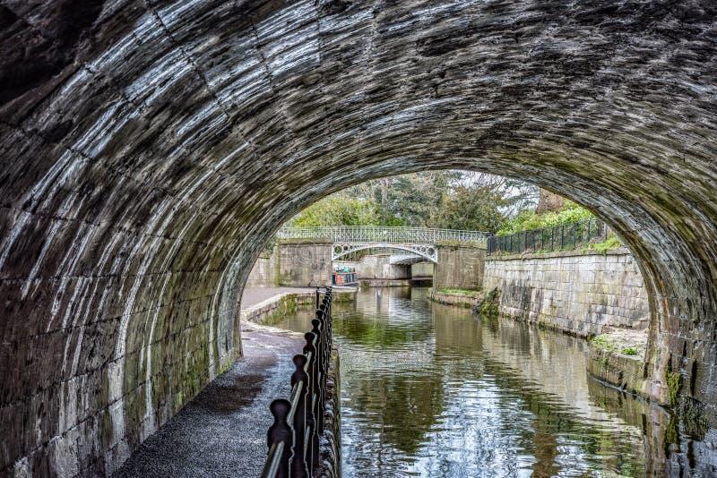 Kennet & Avon kanal arkivbild