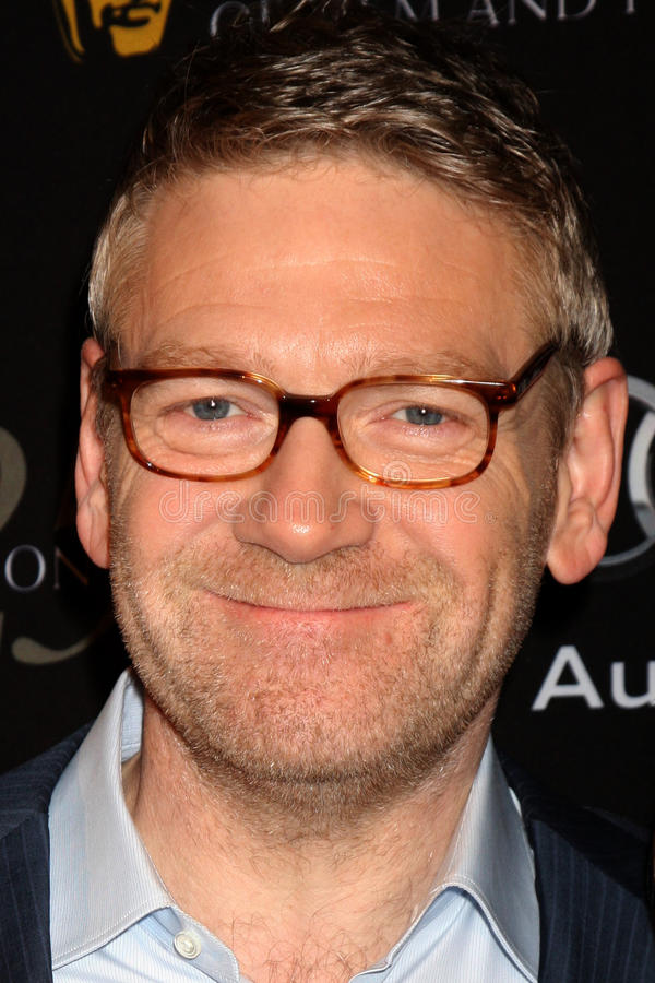 Kenneth Branagh stock photography