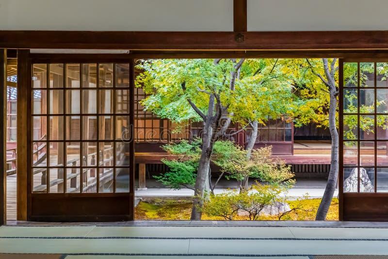 Kennin-jitempel in Kyoto, Japan stockbilder