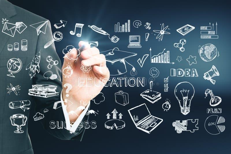 Kennis en succesconcept vector illustratie
