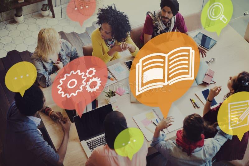Kennis Opleiding het Leren het Concept van het Vaardighedenonderwijs royalty-vrije stock afbeelding