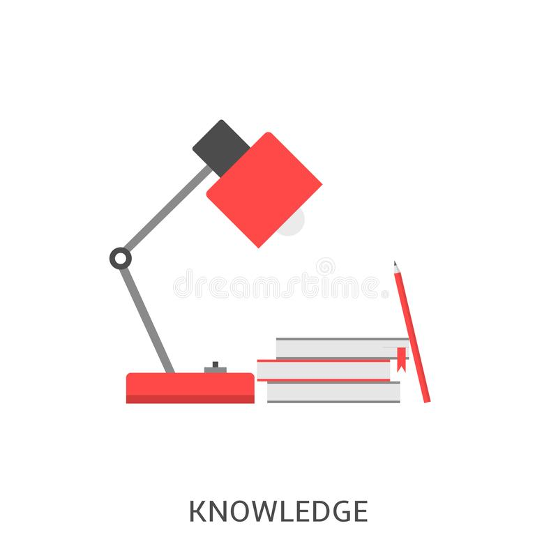 Kennis vectorpictogram vector illustratie
