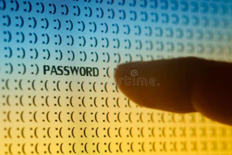 Kennwort-Sicherheit lizenzfreies stockfoto