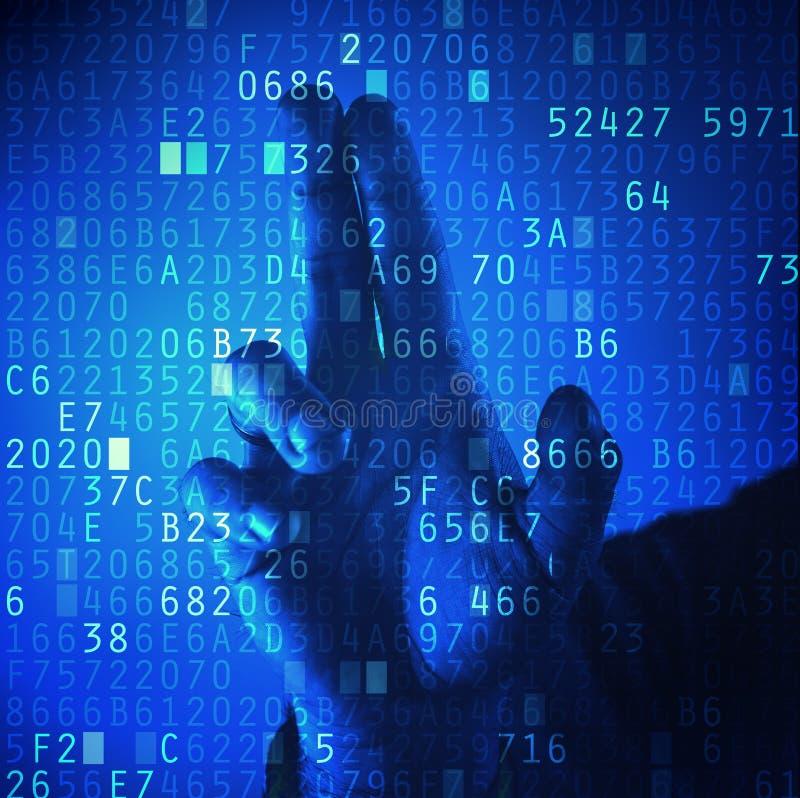 Kennwortschutz lizenzfreie abbildung