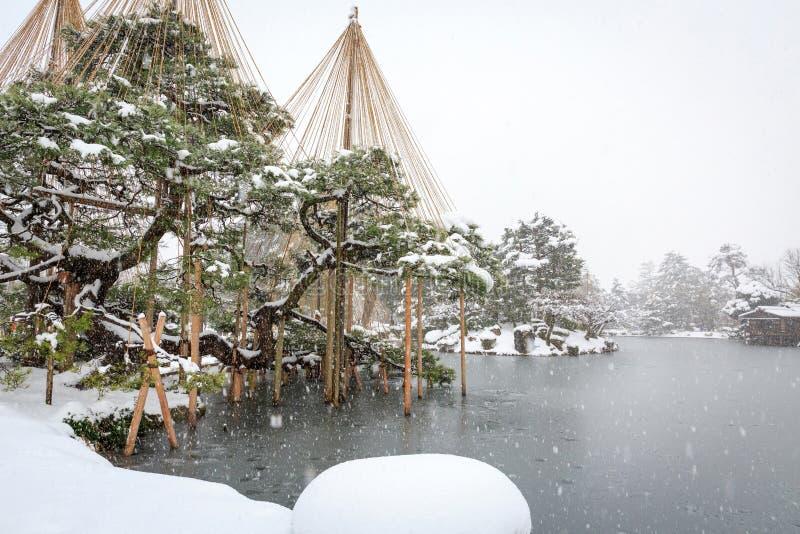 Kenrokuen Garden royalty free stock images