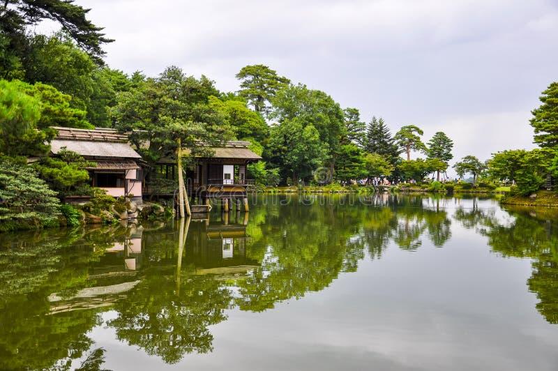 Kenrokuen-Garten stockbilder