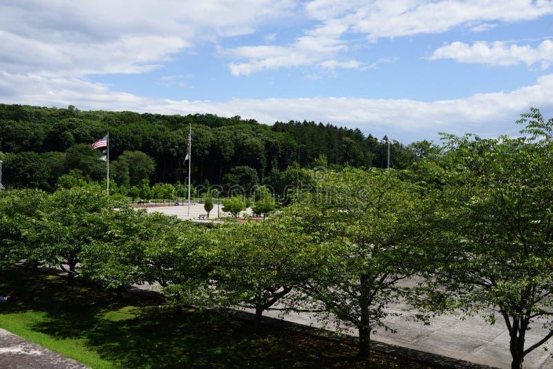 Kensico-Verdammungs-Piazza und Reservoir b 68 lizenzfreies stockbild