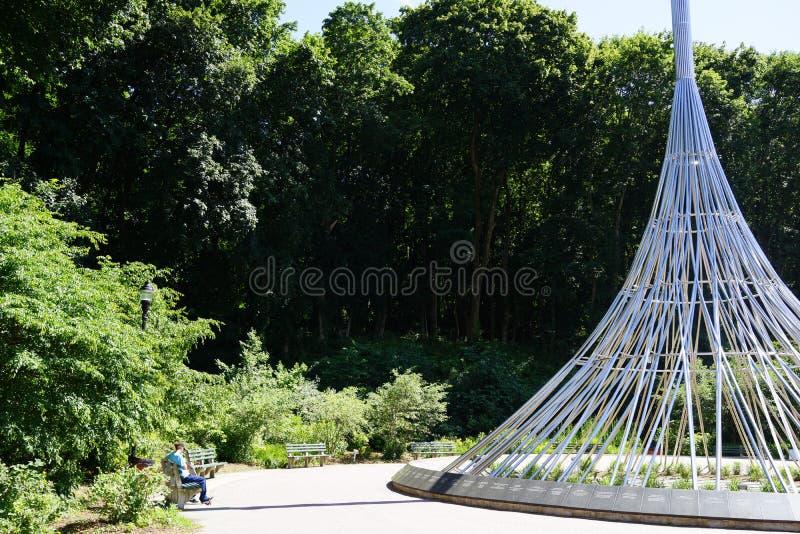 Kensico-Verdammungs-Piazza und Reservoir b 15 lizenzfreies stockbild