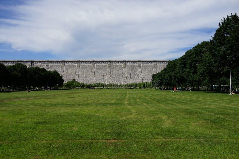 Kensico-Verdammungs-Piazza und Reservoir 96 lizenzfreies stockbild