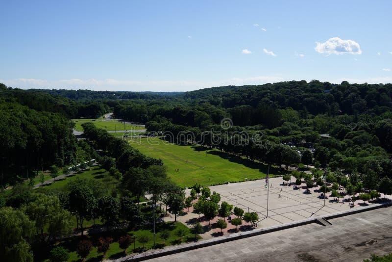 Kensico-Verdammungs-Piazza und Reservoir 17 lizenzfreies stockfoto