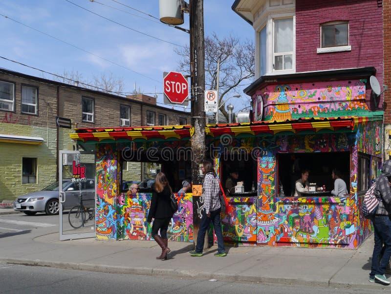 Kensington Market, Toronto royalty free stock photo