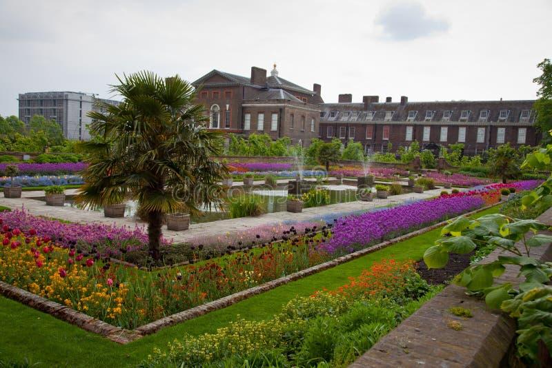Kensington palace garden, London royalty free stock images