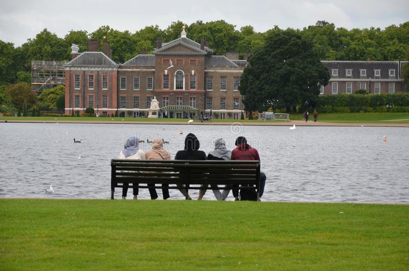 Kensington-Palast-Gärten, London stockfotos