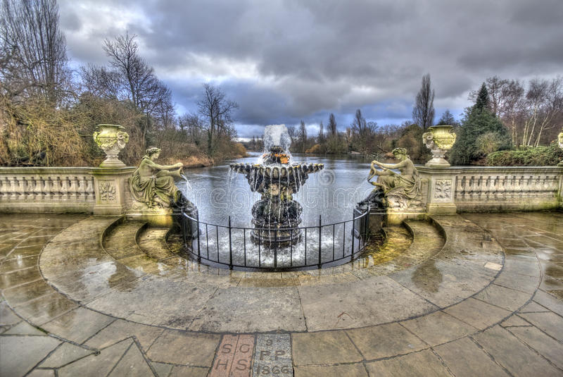 Kensingtontuinen Londen stock afbeelding