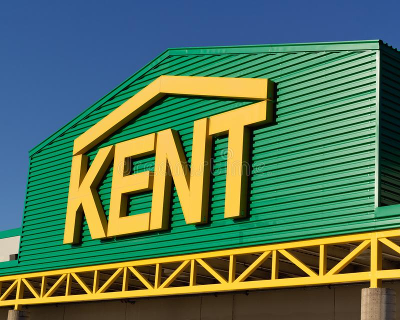 Kent Building Supplies Store stockfotografie