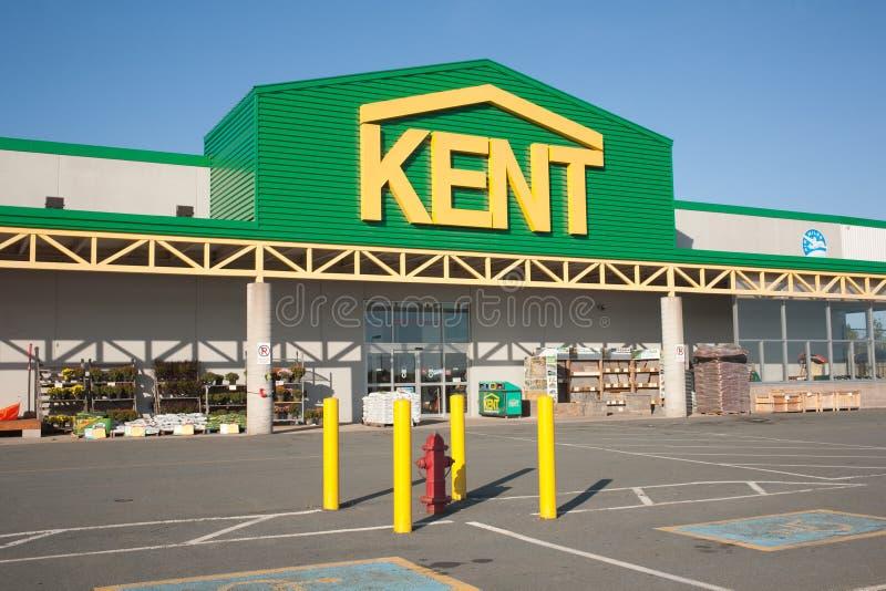 Kent Building Supplies Storefront images libres de droits