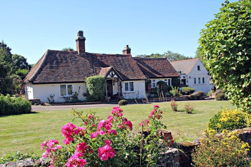 Kent country farmhouse stock photo