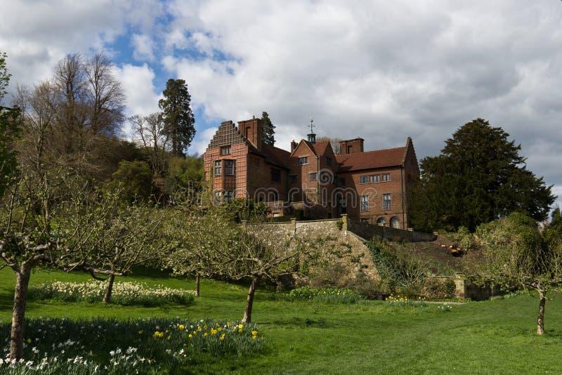 KENT/ENGLAND - 8-ое апреля 2014: Chartwell, дом бывшего премьер-министра стоковая фотография