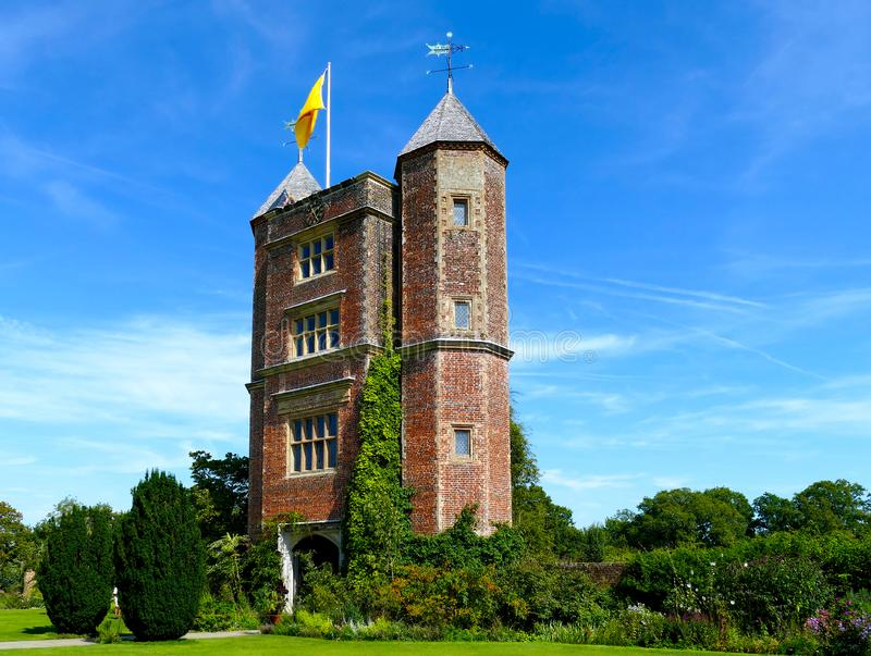 Kent - England - Castles and grounds - UK royalty free stock photo