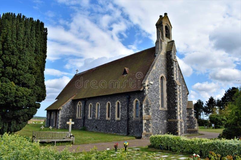 Kent kościół obraz stock