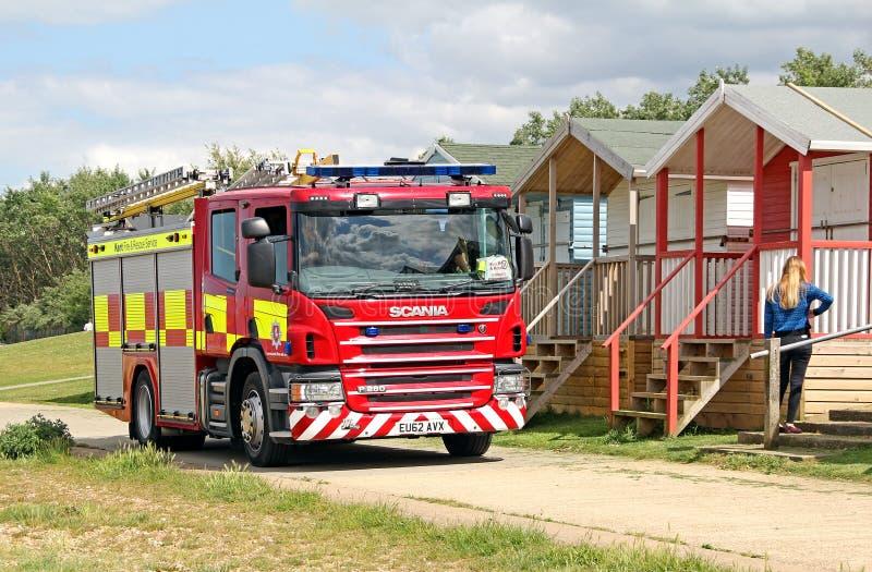 Kent pożarniczego silnika usługa zdjęcia royalty free
