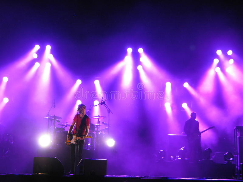 Kent vive no concerto em Oslo, 2012 fotos de stock
