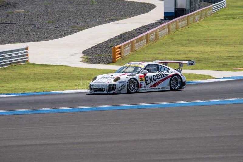 Kenta Yamashita von Porsche-Team KTR in Super-abschließendem Rennen GT warm stockfoto