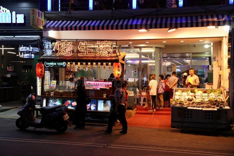 Kenting街,台湾 免版税图库摄影