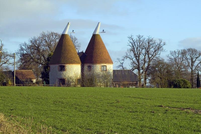 Kentish дом Oast стоковое фото