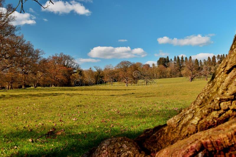 Kentish landscape stock image