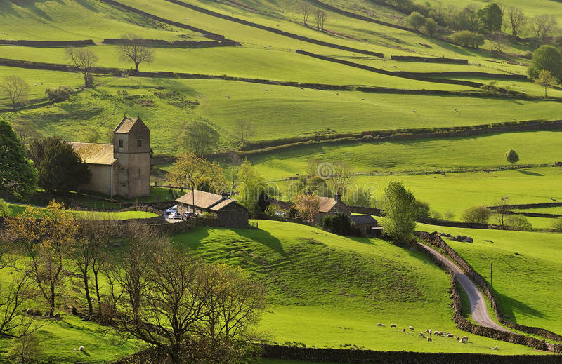 Kentmere Tal, Cumbria lizenzfreie stockfotos