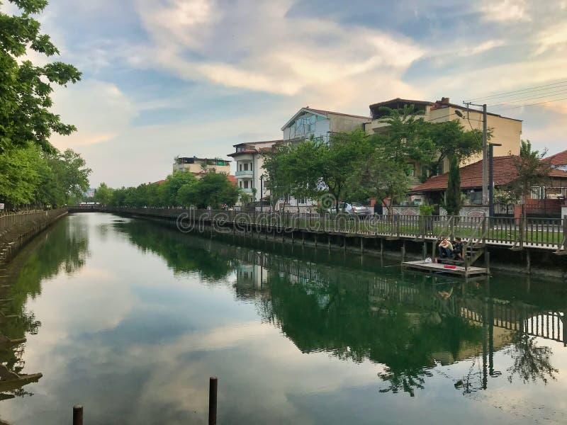 Kentpark,萨卡里亚,土耳其 2019年5月- Cark谷 库存图片
