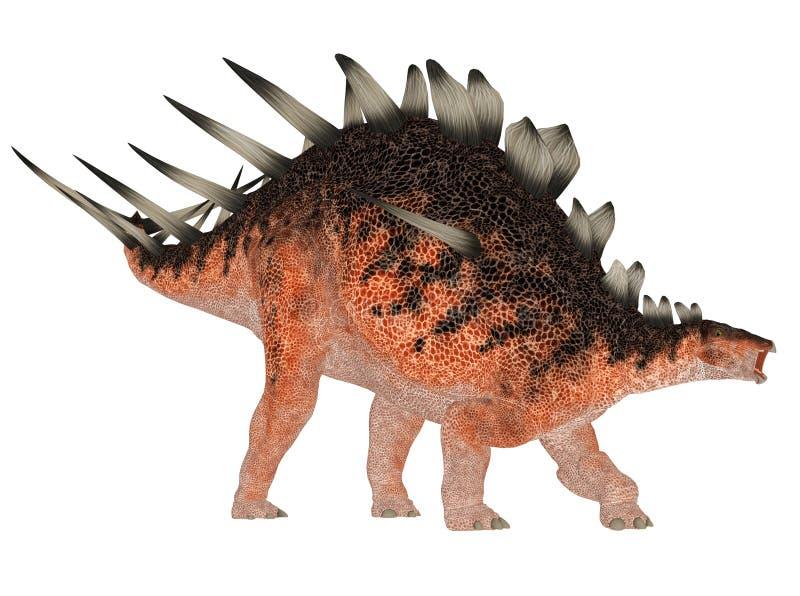 Kentrosaurus illustration de vecteur