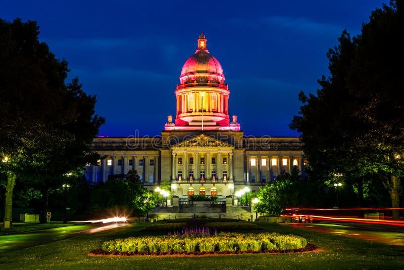Kentucky statKapitolium royaltyfria foton