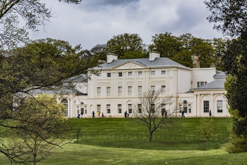 Kenwood hus Hampstead Heath London fotografering för bildbyråer