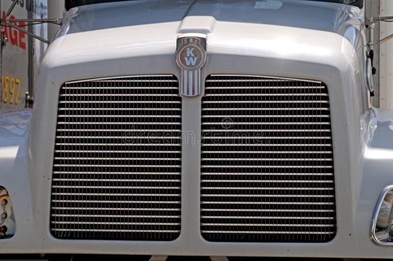 Kenwortth diesel truck royalty free stock image