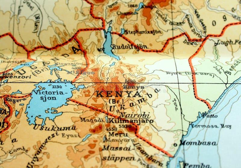 Download Kenya stock image. Image of vintage, pages, state, border - 4283891