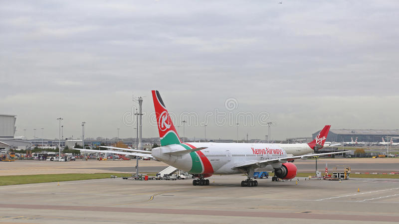 Kenya Airways photos libres de droits