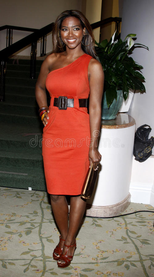 Kenya Moore. 19/02/2009 - Beverly Hills - Kenya Moore at the Essence Black Women in Hollywood Luncheon held at the Beverly Hills Hotel in Beverly Hills stock photo
