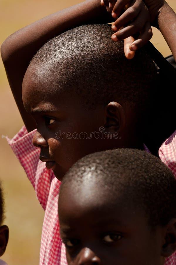 kenyan детей Африки стоковые фото