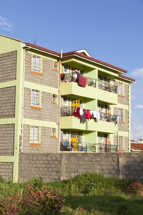 Kenyan Apartment Building, editorial foto de stock
