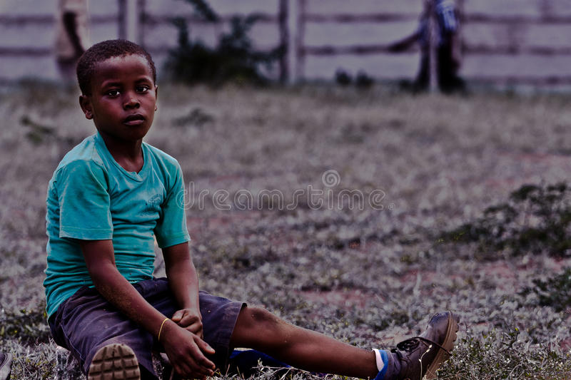 Kenyan child,africa royalty free stock photography