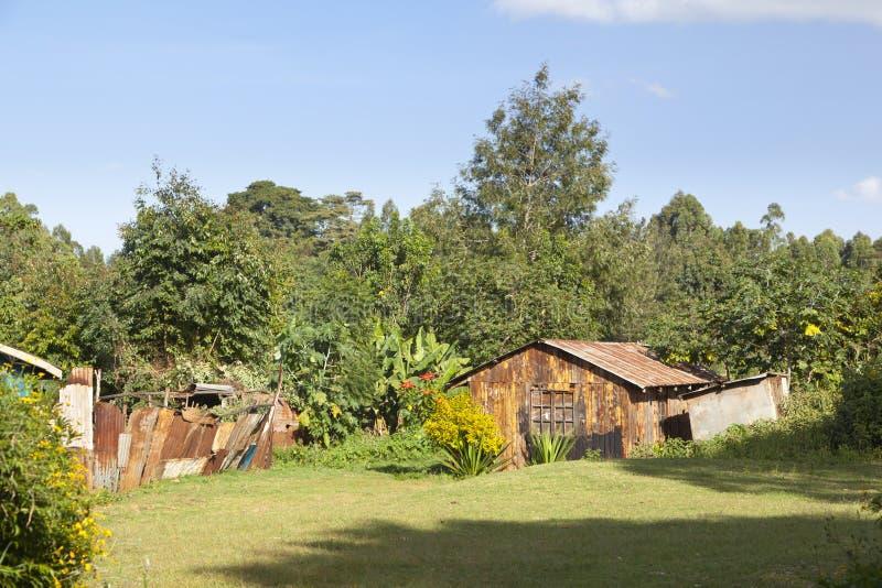 Kenyan Country House imagens de stock royalty free