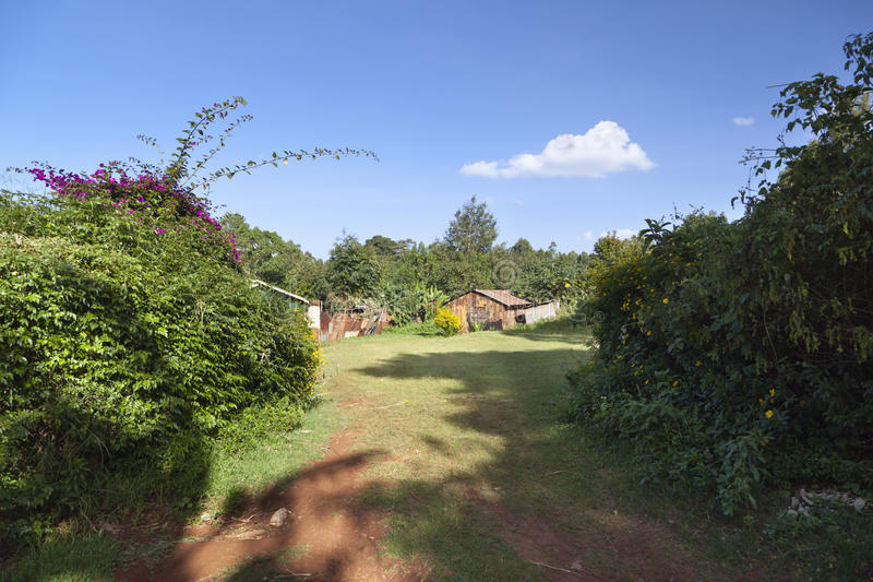 Kenyan Country House foto de stock