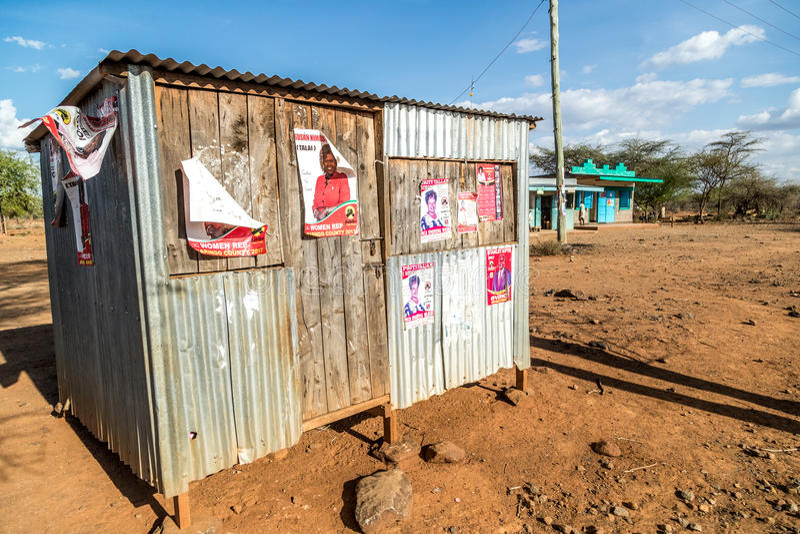 Kenyan Elections em 2017, Kenya, África foto de stock
