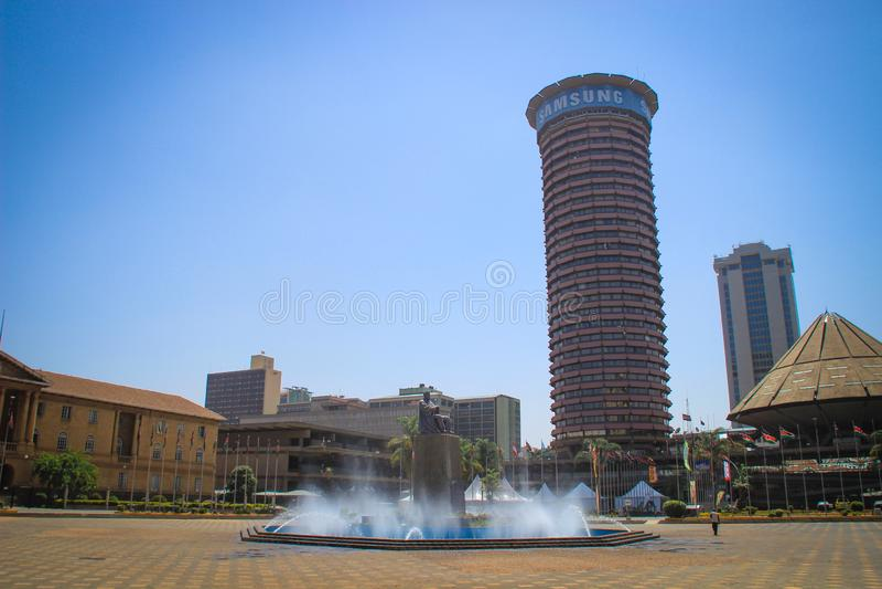 Kenyatta International Convention Center photographie stock libre de droits