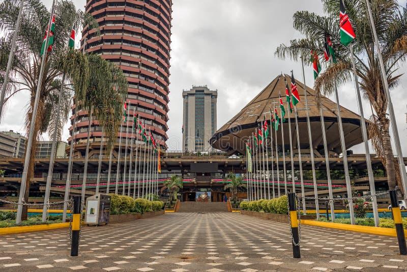 Kenyatta konferenci międzynarodowa Centre zdjęcie stock