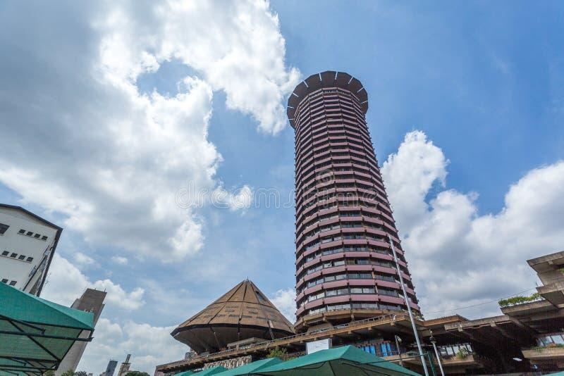 Kenyatta Międzynarodowy convention center, Nairobia, Kenja zdjęcia royalty free