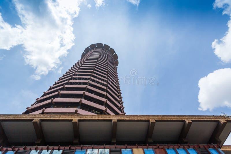 Kenyatta Międzynarodowy convention center, Nairobia, Kenja obrazy royalty free