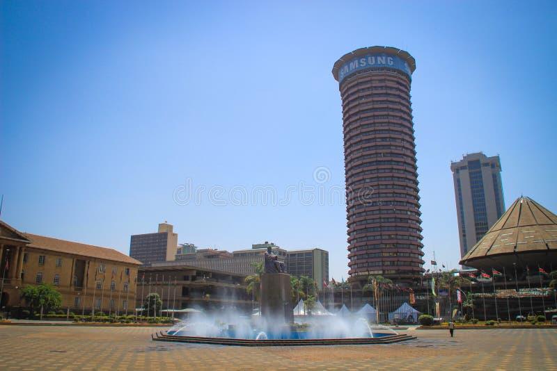 Kenyatta zawody międzynarodowi Convention Center fotografia royalty free